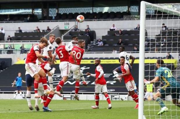 Les Belges à l'étranger - Toby Alderweireld offre la victoire à Tottenham dans le derby contre Arsenal