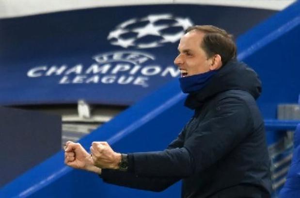 """Ligue des Champions - Thomas Tuchel souligne la """"mentalité exceptionnelle"""" de Chelsea"""