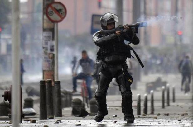 Avondklok van kracht in Bogota na protesten