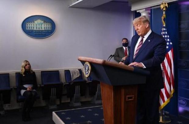 """Présidentielle américaine 2020 - Trump maintient qu'il a gagné sauf si on lui """"vole"""" l'élection"""