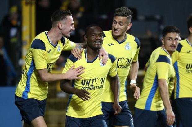 Proximus League - Union wint op Daknam met 0-2 en duwt Lokeren nog wat dieper in put