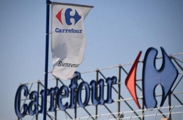 Personeelsacties in Carrefour-magazijn na virusbesmetting