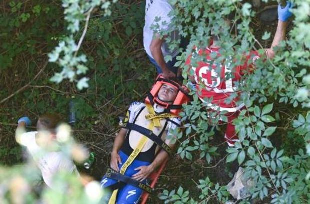 """Les conclusions de l'enquête sur la chute d'Evenepoel en Lombardie """"rendues rapidement"""""""