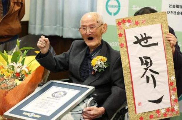 Oudste man ter wereld, 112-jarige Japanner, overleden