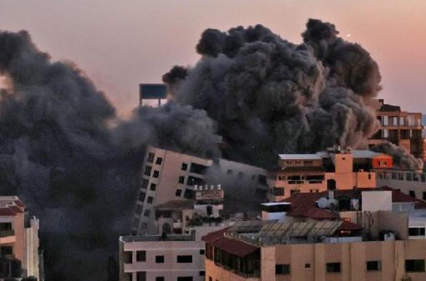 Gaza: destruction d'un immeuble d'une dizaine d'étages dans une frappe israélienne