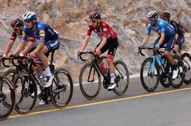 UAE Tour: Vingegaard gagne au sommet de Jebel Jais, Pogacar prend une option sur la victoire finale