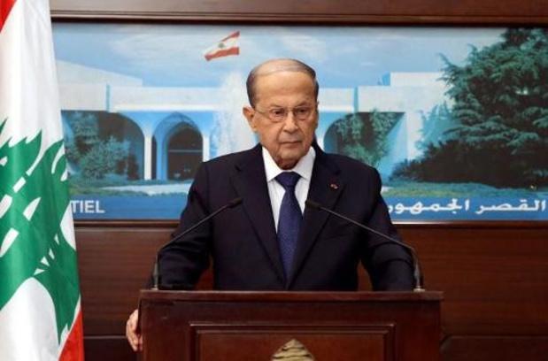 Liban: le président refuse de destituer trois responsables