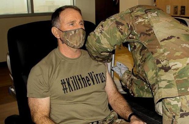 Derde van Amerikaanse militairen wil zich niet laten vaccineren