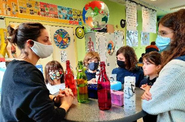 Le projet-pilote de tests salivaires dans les écoles a permis de détecter deux clusters