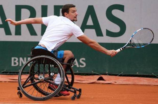 """Roland Garros - Gerard na verloren finale tegen Hewett: """"Ik heb hem de genadeslag niet kunnen toedienen"""""""