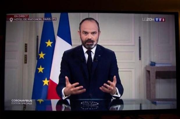 France: sorties limitées à 1 km de chez soi, fermeture des marchés