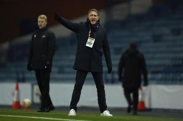 Europa League - Fin de parcours européen pour le Standard, battu chez les Rangers