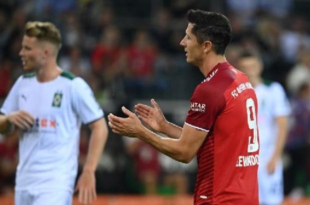 Bundesliga - Kampioen Bayern laat meteen punten liggen bij Mönchengladbach