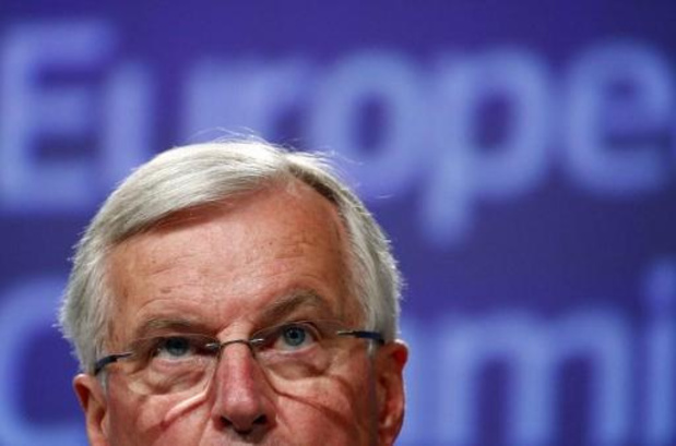 """""""Pas d'accord"""" si le Royaume-Uni ne respecte pas ses engagements, prévient Barnier"""