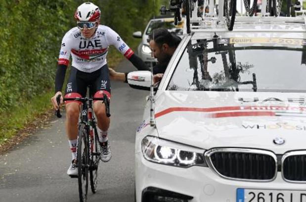 Pogacar beëindigt zijn seizoen, toch geen Ronde van Vlaanderen voor Tourwinnaar