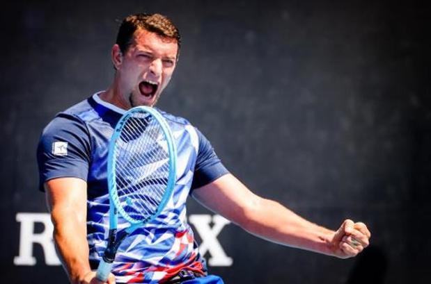 Rolstoeltennisser Gérard is fier op finaleplaats Australian Open