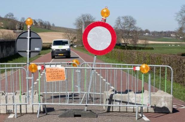 Des messages à la frontière néerlandaise pour éviter les déplacements non-essentiels
