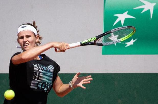US Open - Greet Minnen staat voor het eerst in derde ronde grandslamtoernooi