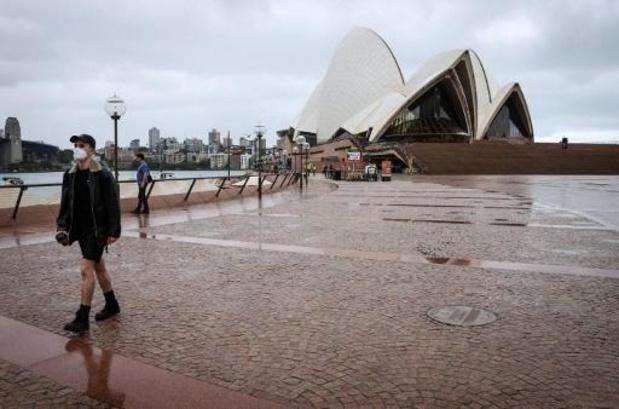 Jaarwisseling: lege straten in Sydney tijdens wereldberoemd vuurwerk