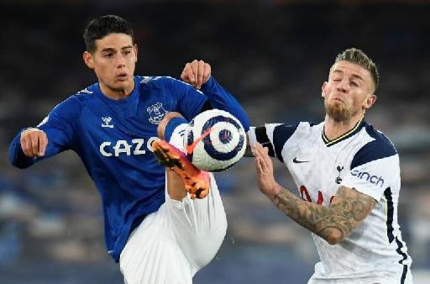 Belgen in het buitenland - Tottenham en Everton delen de punten