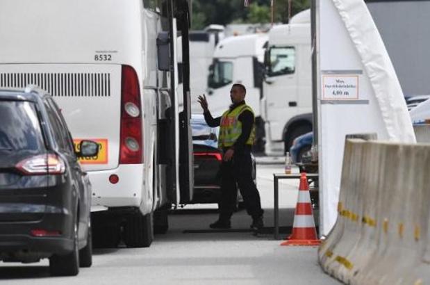 Geen systematische controles aan Europese binnengrenzen