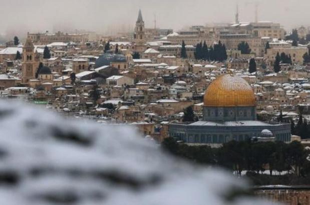 Sneeuwpret en -ellende in het Midden-Oosten
