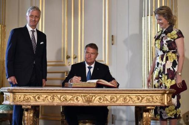 Koningspaar opent samen met Roemeens president biënnale Europalia Romania