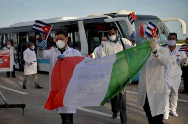 Coronavirus - Des parlementaires PTB, PS et sp.a soutiennent la Brigade médicale cubaine pour le Nobel
