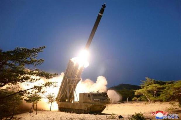 Washington waarschuwt voor raketprogramma Noord-Korea