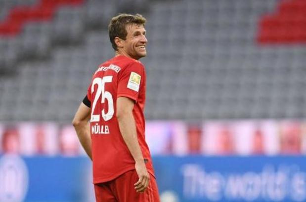 Bundesliga - Thomas Müller met zeventiende assist weer wat dichter bij record Kevin De Bruyne