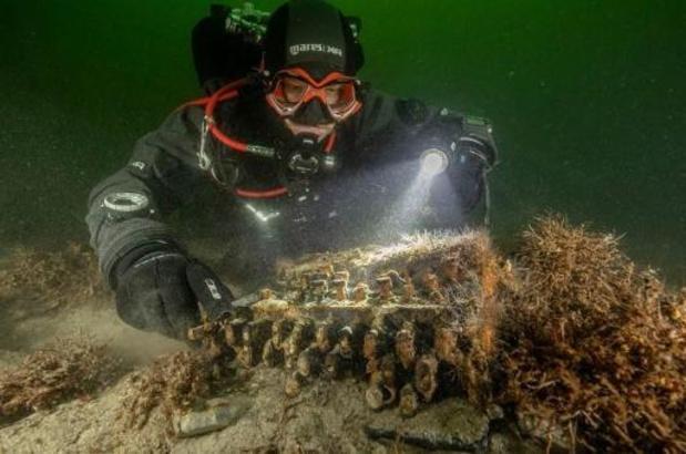 Zes Enigma-codeermachines uit WO II geborgen uit Oostzee