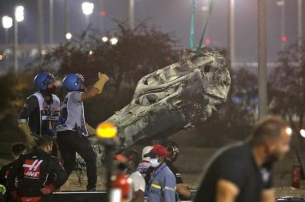 F1 - Lewis Hamilton remporte un GP de Bahreïn marqué par le crash de Romain Grosjean