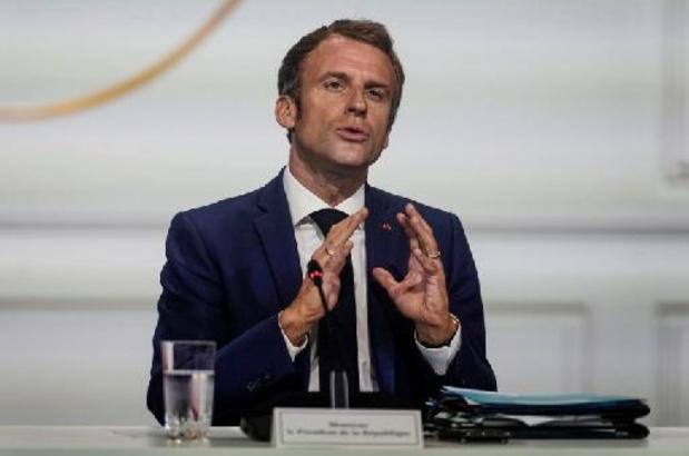 """Le G20 doit """"poser ses conditions pour la reconnaissance des talibans"""", souhaite Macron"""