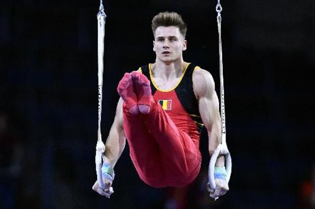 Luka Van den Keybus en finale du concours général
