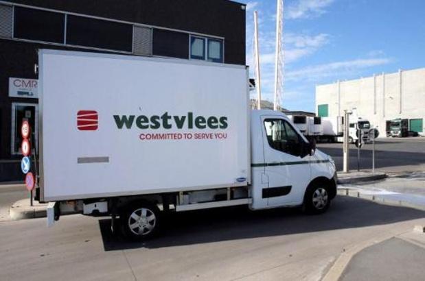 Al 50 medewerkers Westvlees Staden hebben positief getest