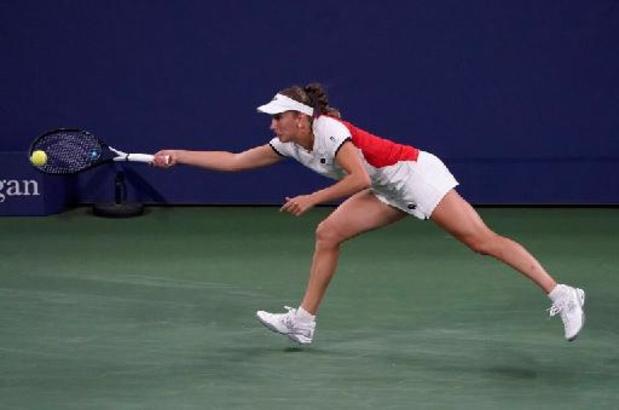 US Open - Elise Mertens en quarts du double après un succès contre Minnen et Van Uytvanck