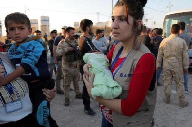 Al 300.000 ontheemden sinds begin van offensief