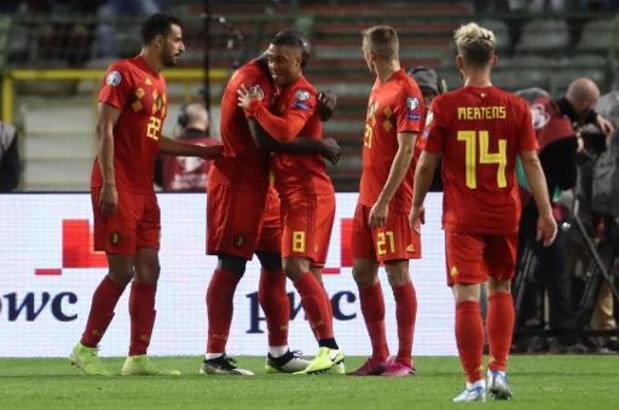 Rode Duivels - Foutloze voorronde levert Rode Duivels drie speeldagen voor het einde al EK-ticket op