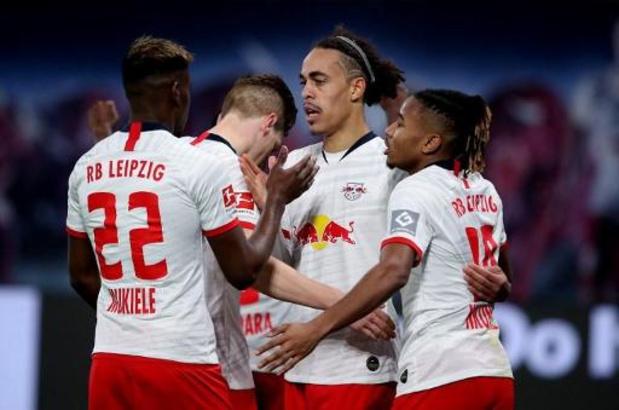 Bundesliga - Tenu en échec par Mönchengladbach, Leipzig laisse la tête au Bayern
