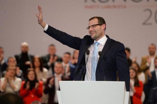 Robert Abela ingezworen als nieuwe premier van Malta