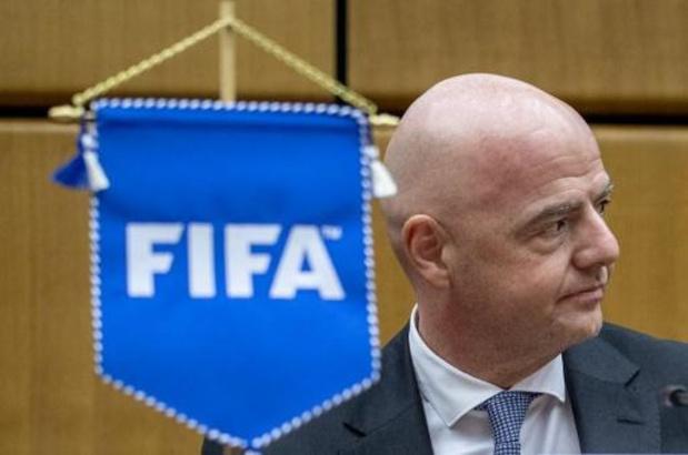Infantino (FIFA) ne veut pas de Mondial sans fans, ni de Super Ligue européenne des clubs