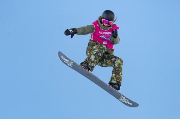 Evy Poppe décroche le bronze en big air après son titre en slopestyle