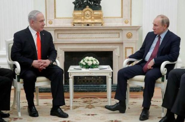 """Netanyahu présente à Poutine le plan américain comme une """"opportunité unique"""""""