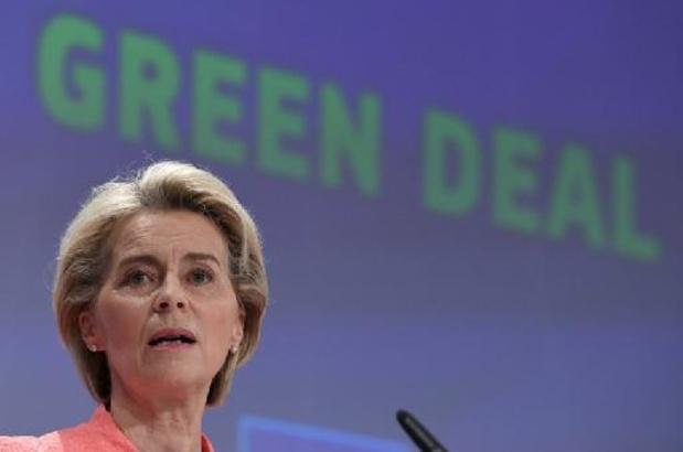 """""""Economie op fossiele brandstoffen heeft haar limieten bereikt"""" (Von der Leyen)"""