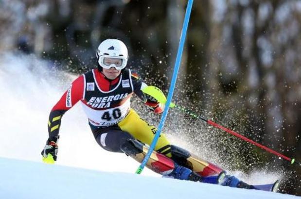 WB alpijnse ski - Armand Marchant skiet naar vijfde plaats in slalom Zagreb, beste Belgische resultaat ooit