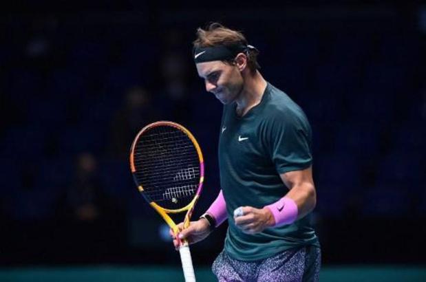 ATP Finals - Rafael Nadal élimine le tenant du titre Stefanos Tsitsipas et rejoint Medvedev en demi-finale