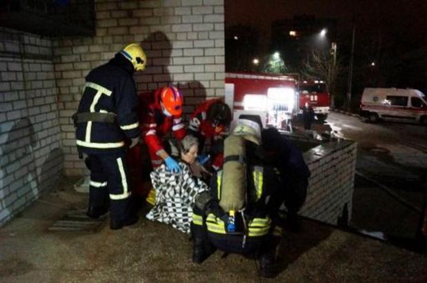 Vier doden bij brand in COVID-afdeling van Oekraïens ziekenhuis