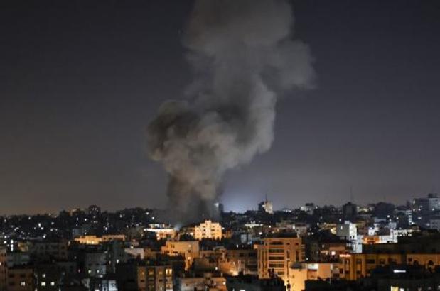 CONFLIT ISRAÉLO-PALESTINIEN - Israël bombarde Gaza, violences en Cisjordanie