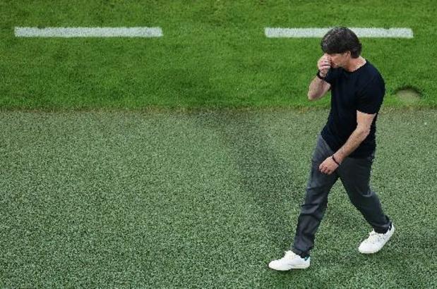 """EK 2020 - Joachim Löw verwijt zijn team niets na nederlaag: """"Mijn spelers hebben alles gegeven"""""""