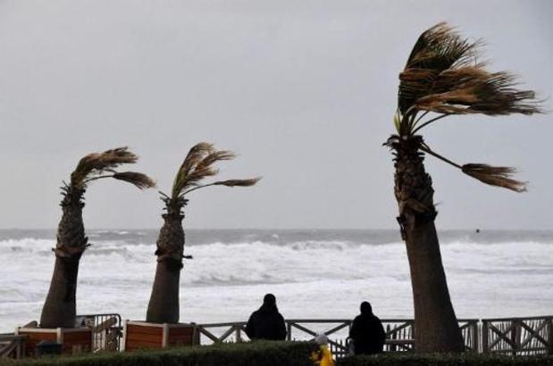 Tempête Amélie en France: 18.500 foyers encore sans électricité lundi en fin de journée